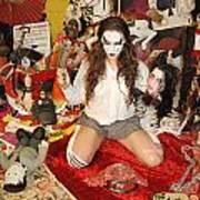 Evil Schoolgirl 38 Art Print