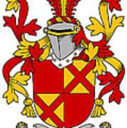 Ewing Coat Of Arms Irish Art Print