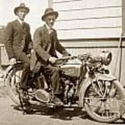 Excalibur Motorcycle Circa 1920 Art Print