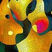 Exchange Of Views Art Print