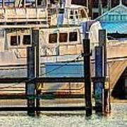 Excursion Boat Art Print