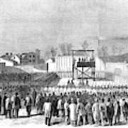 Execution Of Henry Wirzhenry Wirz Art Print