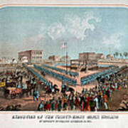 Execution Of The Thirty Eight Sioux Indians Art Print