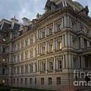 Executive Office Building Art Print