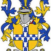 Exham Coat Of Arms Irish Art Print