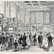 Exhibition Of The City Of London Society Of Artists Art Print