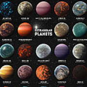 Exoplanets Art Print