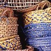 Exotic Baskets Art Print