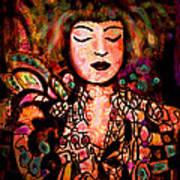 Exotic Beauty Art Print
