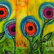 Exotic Halos - Wip Art Print