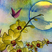 Exotic Moon Art Print