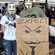 Expect Revolution Art Print