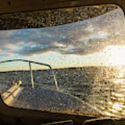 Expedition Boat In Repulse Bay Art Print