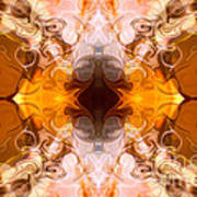 Exploding Ideas Abstract Pattern Artwork By Omaste Witkowski Art Print