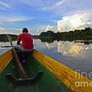 Exploring Amazonia Art Print