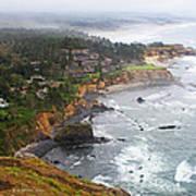 Exploring The Oregon Coast Art Print