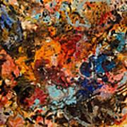 Explosive Chaos Art Print