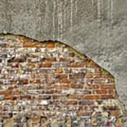 Exposed Brick Art Print