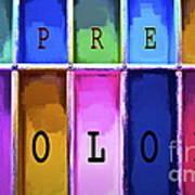 Express Color Art Print