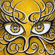 Expressive Eyes Art Print
