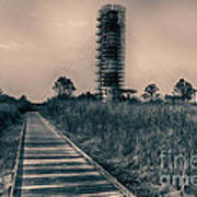 Extreme Makeover Lighthouse Edition Art Print