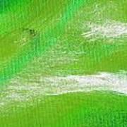 Exuberant Emerald Green Art Print