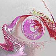 Eye 3 Art Print by Soumya Bouchachi