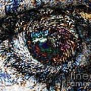 Eye Of A Hurricane Called You Art Print
