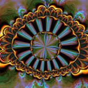 Eye Of Centauris Art Print by Claude McCoy