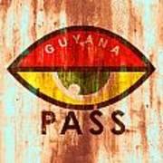 Eye Pass Art Print