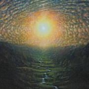 Eye Sky Art Print