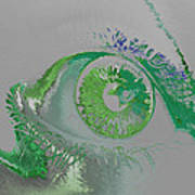 Eye Art Print by Soumya Bouchachi