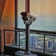 Eyes Down From The 103rd Floor Telescope Looking South Art Print
