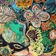 Eyes In Hiding Art Print