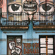 Eyes Of Barcelona Art Print