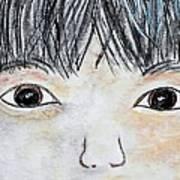 Eyes Of Love Art Print by Eloise Schneider