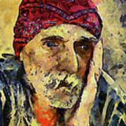 Eyes Of Sadness Art Print