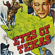 Eyes Of Texas, First, Second, Third Art Print