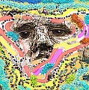 Eyes Sculp Art Print