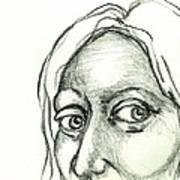 Eyes - The Sketchbook Series Art Print by Michelle Calkins