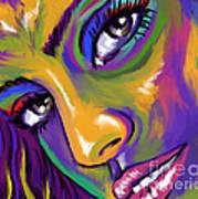 Eyes01 Art Print