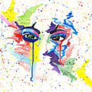 Eyez Art Print by Rishanna Finney