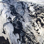 Eyjafjallajokull And The Glacier Art Print