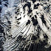 Eyjafjallajokull Glacier And Ashes Art Print