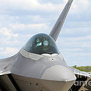 F-22 Raptor Lockheed Martin Air Force Art Print