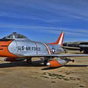 F-86h Sabre Art Print