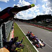 F1 Grand Prix Of Belgium Art Print