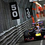 F1 Grand Prix Of Monaco Art Print