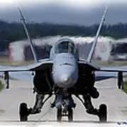 F18 Hornet 002 Art Print