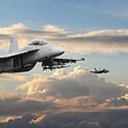 F18 - Super Hornet Art Print